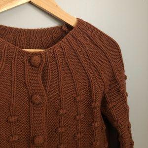 Sezane wool/cashmere cardigan